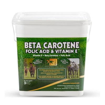 Beta Carotene, Folic Acid & Vitamin E 3Kg