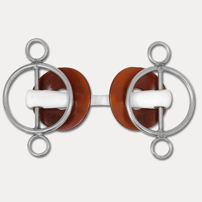 Filete pessoa 3 anillas c/barra rigido 20mm 13.5cm