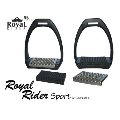 Estribos de plástico Royal Rider Sport