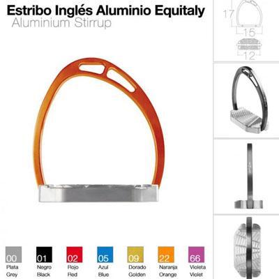 Estribo Equitaly aluminio