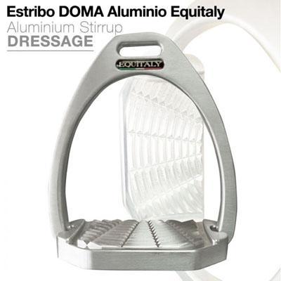 Estribo Equitaly aluminio doma
