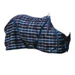 Manta de invierno lana cuadros (sobre manta)