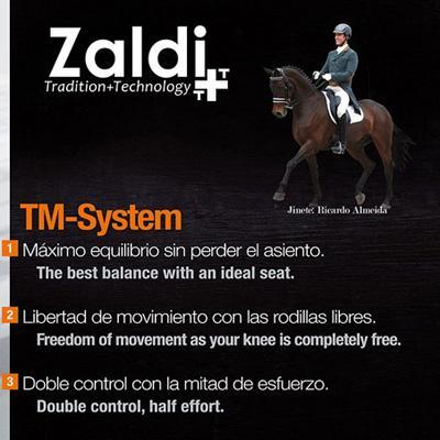 Montura Zaldi doma Drim TM System