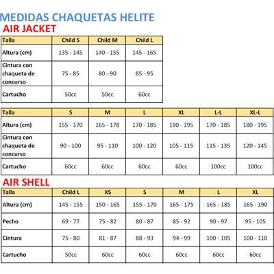 Chaleco Helite Air Shell