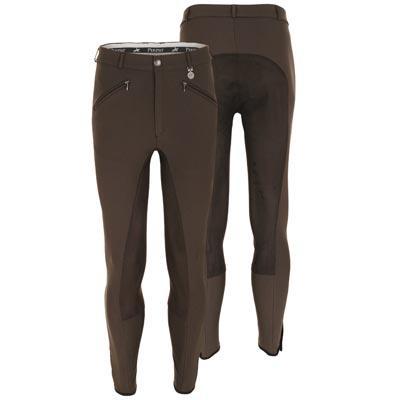 Pantalón Pikeur caballero Liostro-algodón con culeta de cuero