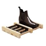 Limpiabotas suelo de madera con cepillo