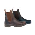 Botines engrasados Country Boots con suela de goma