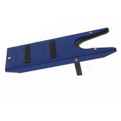 Sacabotas metálico azul