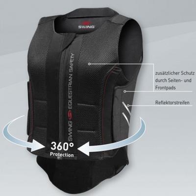 Body protector SWING espalda P07
