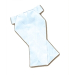 Corbata-plastrón de concurso