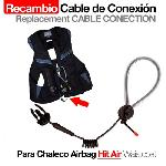 Cable de conexión Chaleco Airbag Hit air