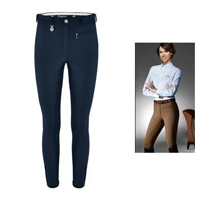 Pantalón Pikeur señora Lugana-algodón con culera de cuero