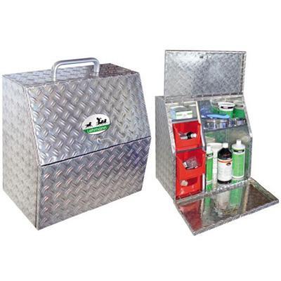 Caja de limpieza Travelbox de aluminio