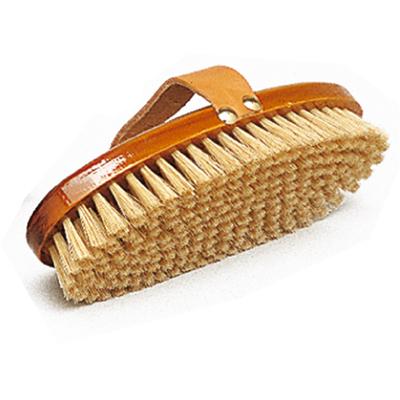 Bruza Zaldi de madera con pelo