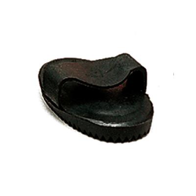 Almohaza de goma pequeña negra