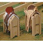 B281 - Wood Saddle Stand - Caballete de Madera
