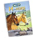 B4120 - H is for horse (Libro de colorear con pegatinas)
