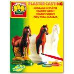 Juego caballos, moldear y pintar