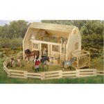 B7500 - Wood corral (Solo la valla)