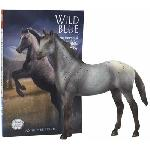 B6136 - Wild Blue (Figura y novela) Coleccion classic