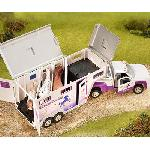 B5369 - Horse crazy truck and trailer (Colección Stablemates)