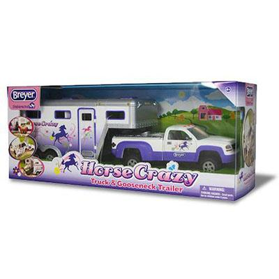 B5369 - Horse crazy truck and trailer (Colección Stablemates)
