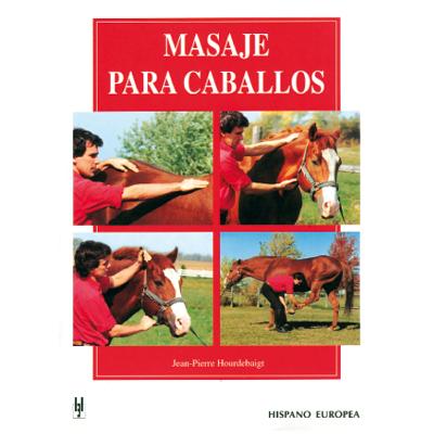 Masaje para caballos. Jane Pierre