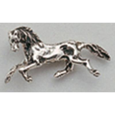 Pin en plata caballo