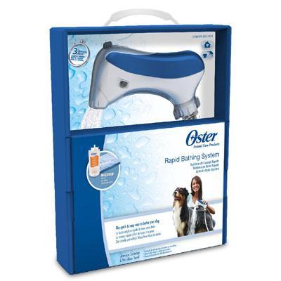 Sistema rápido de baño para mascotas Oster